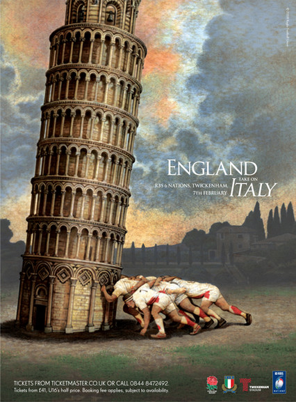 ENLAND v ITALY Rugby