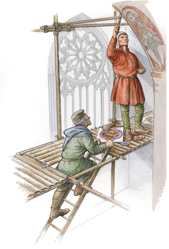 Medieval Painters