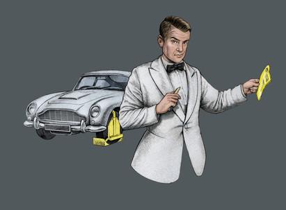 James Bond Ticket