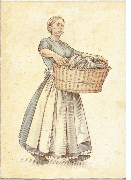 Laundress, Audley End