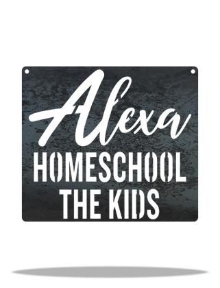 Alexa, Homeschool the Kids