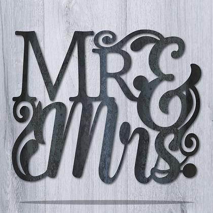 Fancy Mr & Mrs