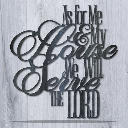 As for me and my House we will Serve the Lord v2