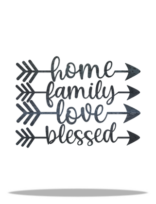 Home, Family, Love, or Blessed Arrow