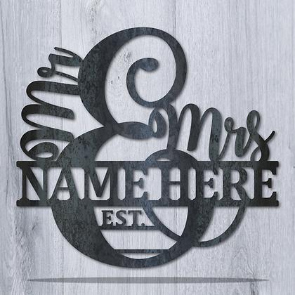 Mr. & Mrs. Monogram