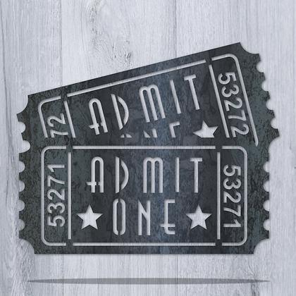 Admit One Double Ticket