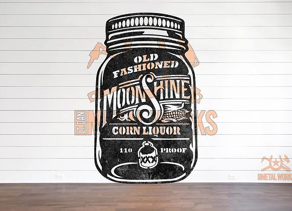 Old Fashioned Moonshine Jar