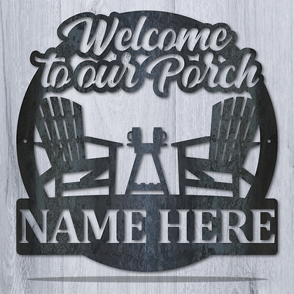 Welcome to the Porch Monogram