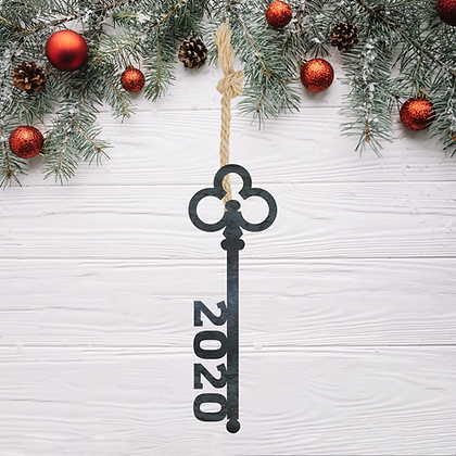 Key 2020 Ornament