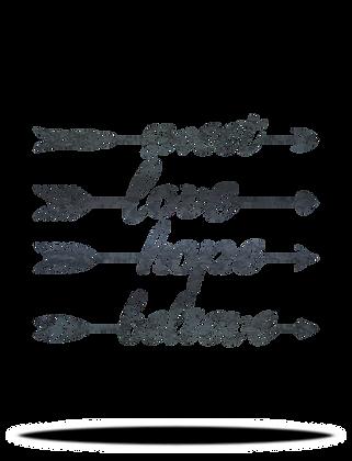Sweet, Love, Hope, or Believe