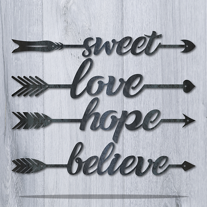 Sweet, Love, Hope, or Believe