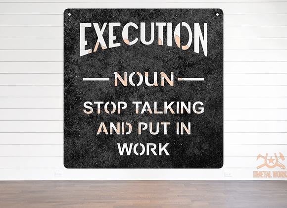 Execution Definition
