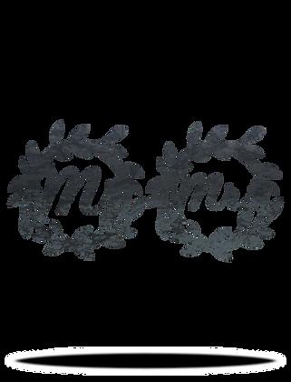 Mr. & Mrs. Wreath Set 2