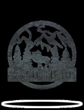 Elk Monogram