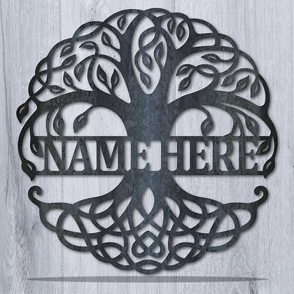 Tree of Life Monogram
