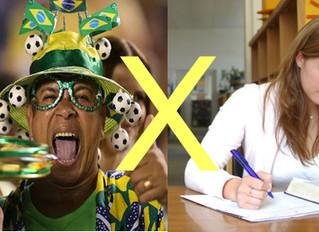 Especialistas ensinam a conciliar os estudos com jogos da Copa