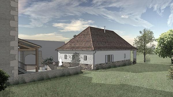 Maison isolation Paille