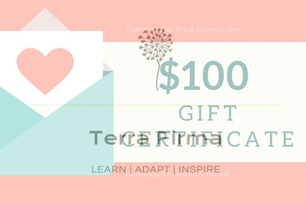 Terra Firma Gift Certificate