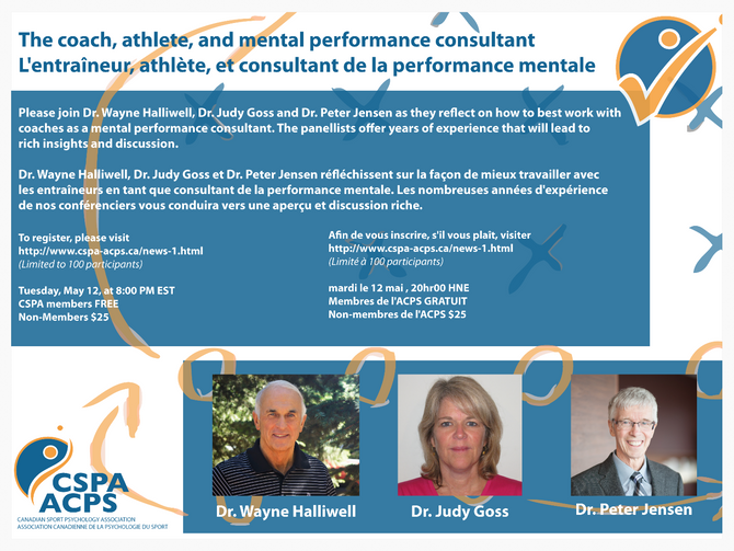 CSPA Webinar #3: The coach, athlete, and the mental performance consultant
