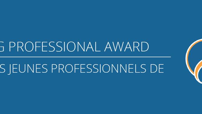 CSPA Young Professional Award / Prix des Jeunes Professionnels de l'ACPS