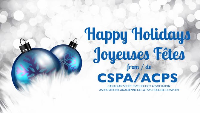 Happy Holidays / Joyeuses Fêtes