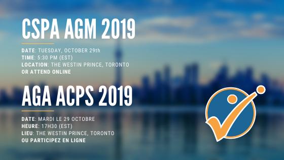 CSPA AGM | L'AGA de l'ACPS