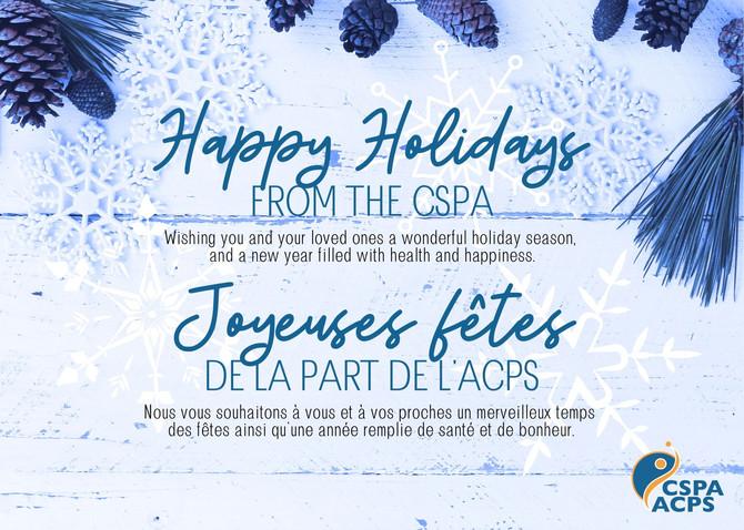 Happy Holidays | Joyeuses fêtes