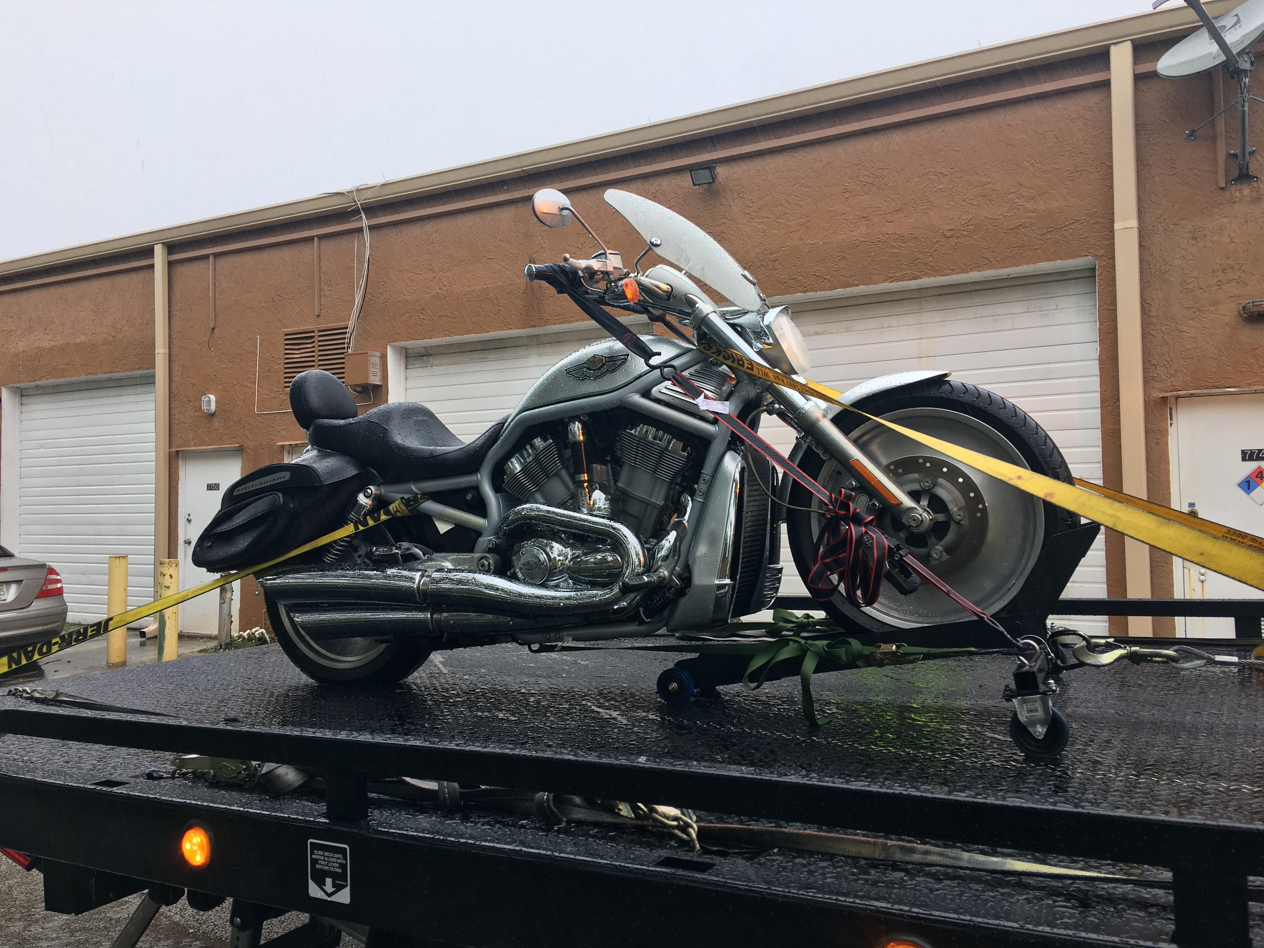 Motorcycle Towing