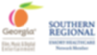 GA Film Commission and Southern Regional Medical Center Logos