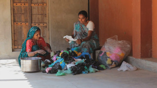 One Lakh Plastic Bags
