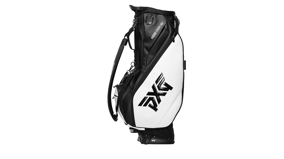 PXG Hybrid Stand Bag 2020 - black&white