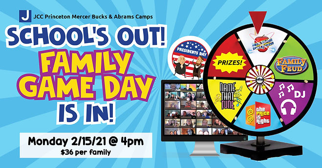 family game day facebook event no websit
