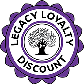 legacy loyalty discount