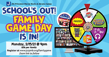 family game day facebook event with webs