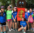 Campers at Hershey Park