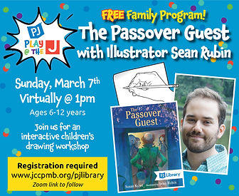 shorter passover guest event graphic mar