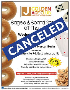 CANCELED golden age bagels and boardgame