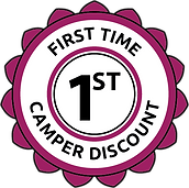 1st time camper discount