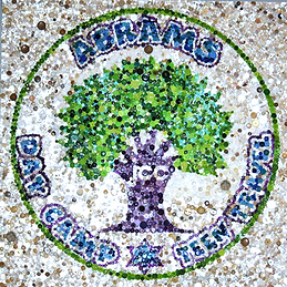 JCC Abrams Camp logo mosaic