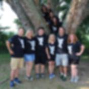 Leadership team in tree