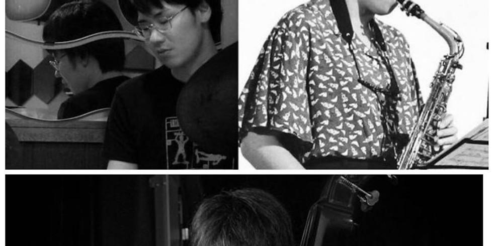 鈴江愛理(at)松本大(dr)田中真登(b)JAZZライブ