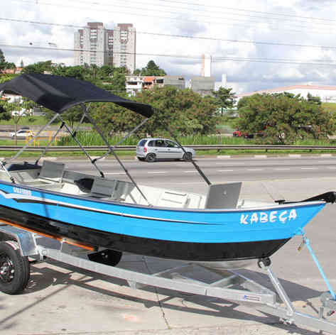 Barco de Pesca modelo Golfinho da Maresias Náutica