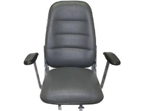 Cadeira Estofada Alta com Braços