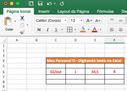 Digitando no Excel