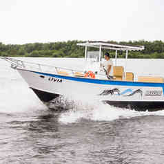 Barco de Pesca modelo MSuper da Maresias Náutica
