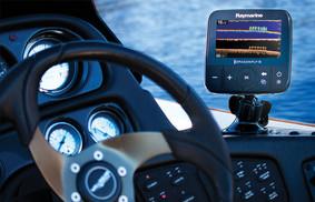 Suporte para montar GPS DragonFly 5PRO Raymarine