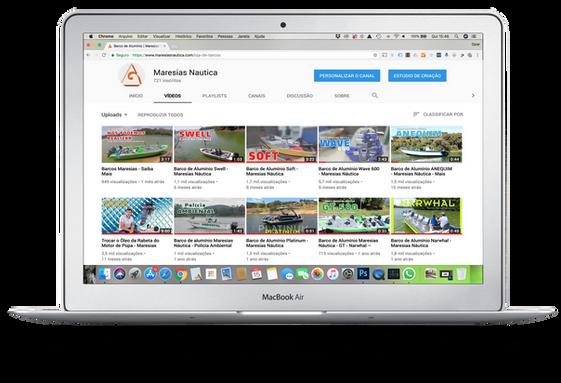 Canal de vídeos da Maresias Náutica