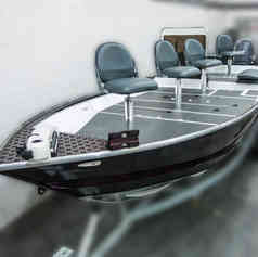 Barco de Pesca modelo Bass Boat GT670 da Maresias Náutica