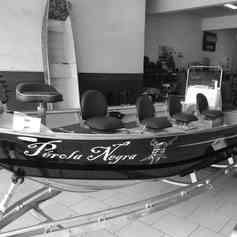 Barco de Pesca modelo Narwhal da Maresias Náutica