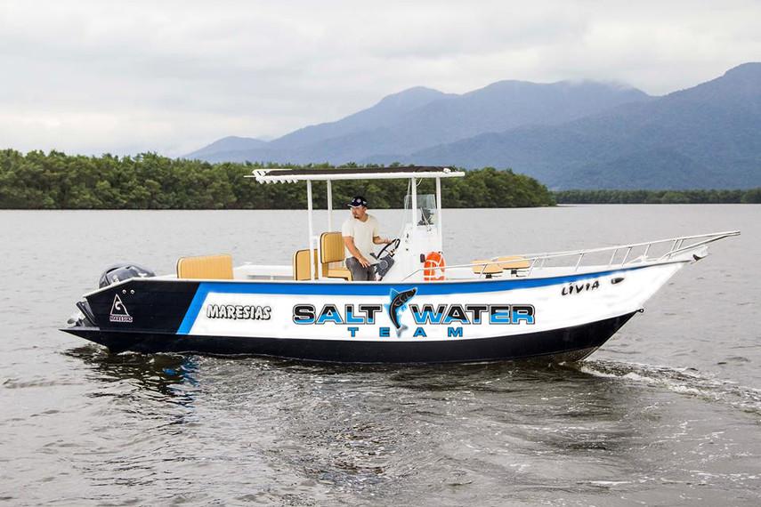 Guia de Pesca | Cubatão | SaltWater Team